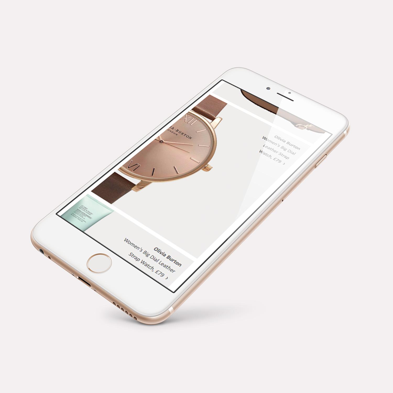 John Lewis Email Marketing Re-design