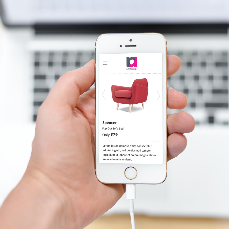 Restrelax.com Web Design Responsive Design