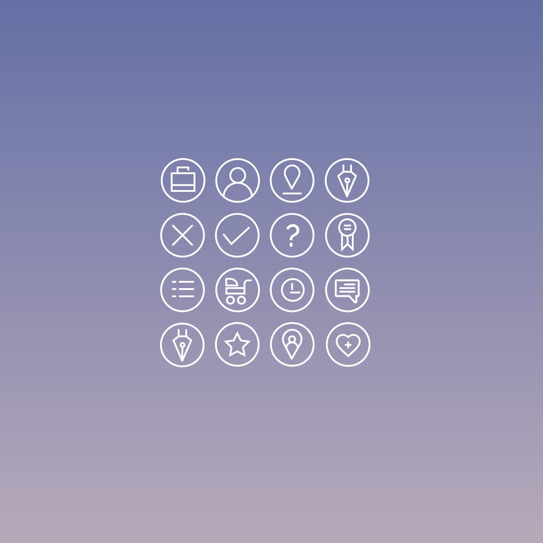 NanniFinder Icon Set Joao Ferreira Freelance Designer