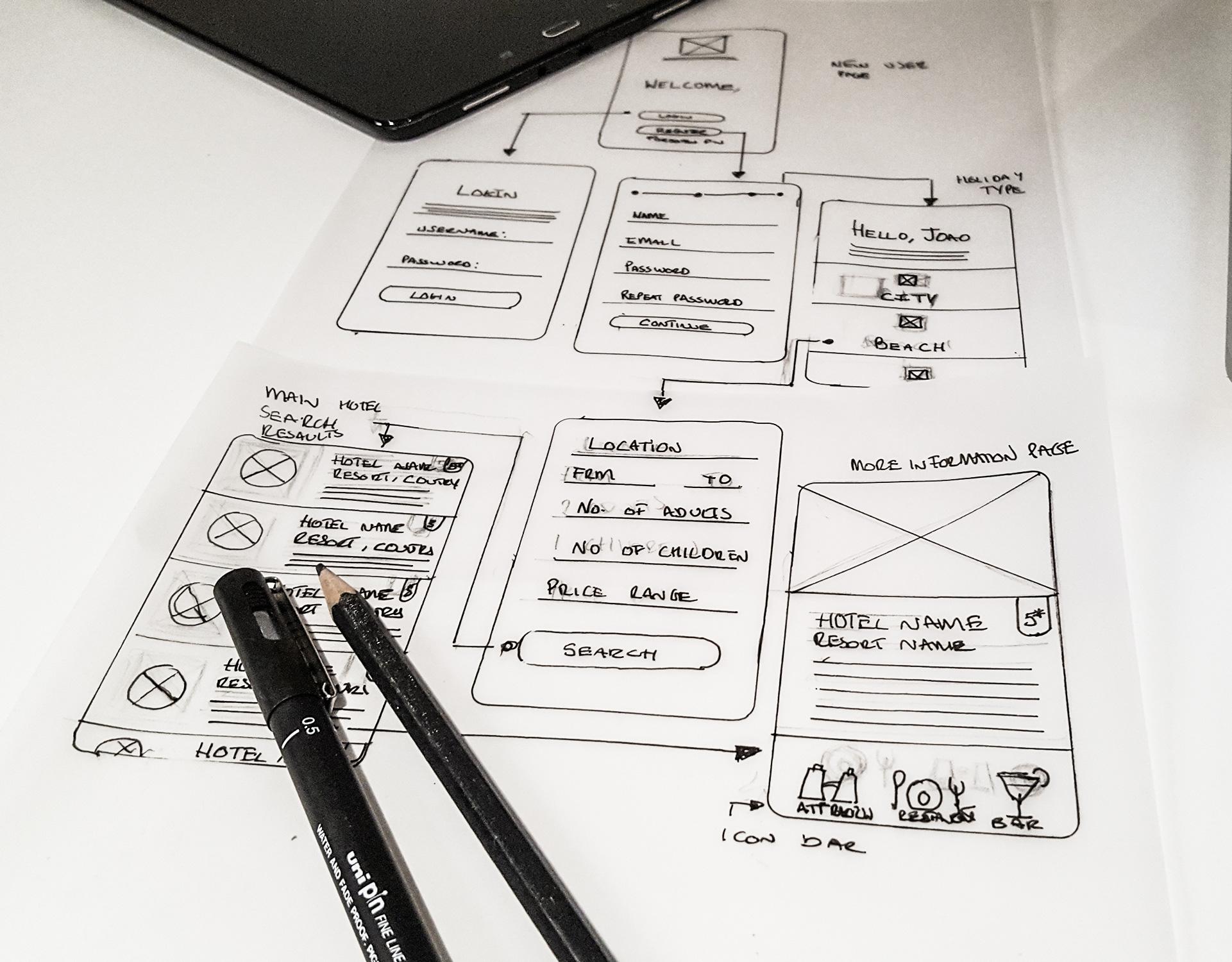UTravel App Design | Joao Ferreira Freelance Designer